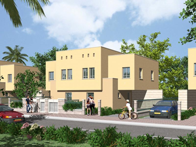 נתניה פרויקט כוכבים בשרון 20 יחידות דיור צמודי קרקע