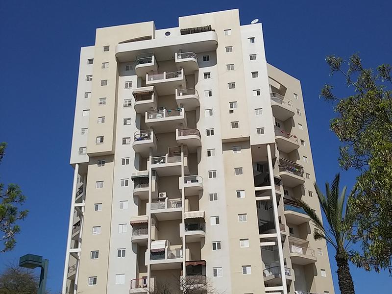 פרוייקט באר שבע - מגדל מגורים בשכונת נווה זאב -  64יחידות ברחוב סרן דב 3