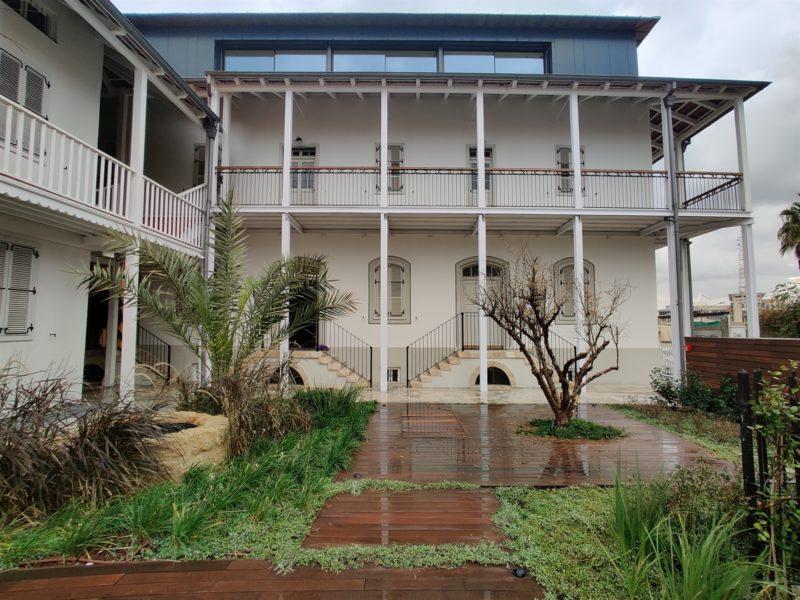 פנטהאוז במושבה האמריקאית - בניין לשימור