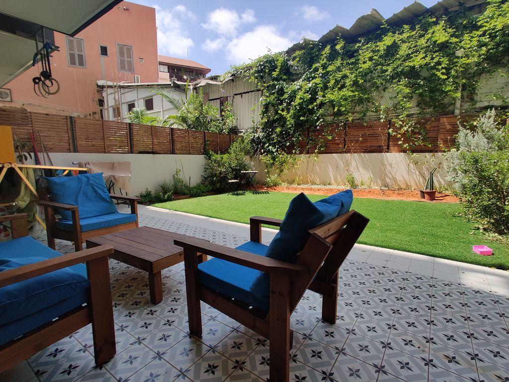 דירת גן מפנקת בשוק היווני